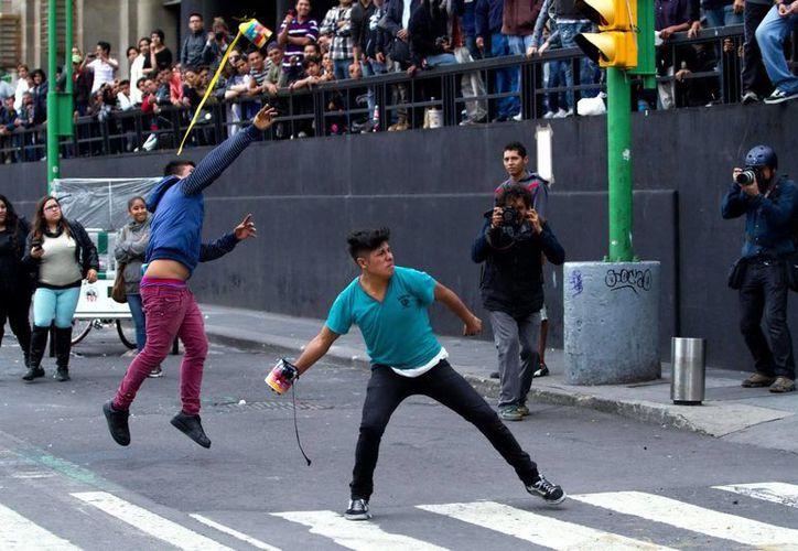 Tras ser desalojados del Zócalo capitalino, los maestros disidentes no se reubicaron en otra zona de la Ciudad de México. (Notimex)