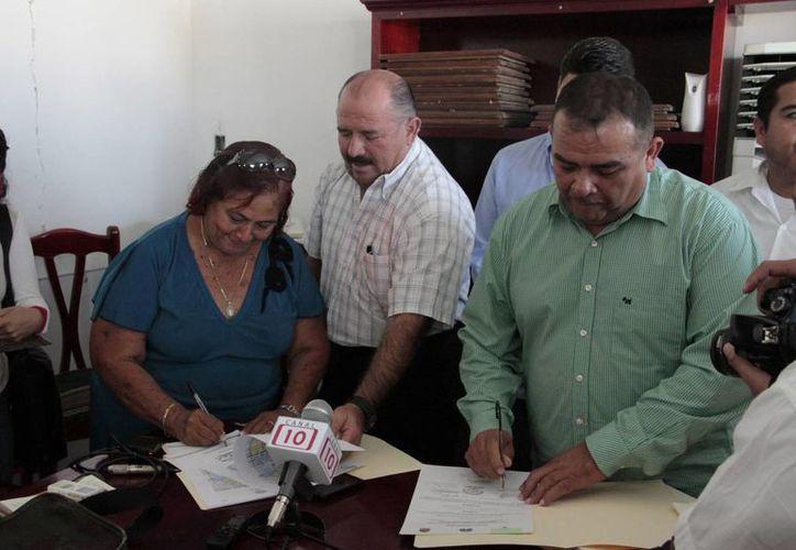 Las dos empresas fueron autorizadas por la Sintra. (Tomás Álvarez/SIPSE)