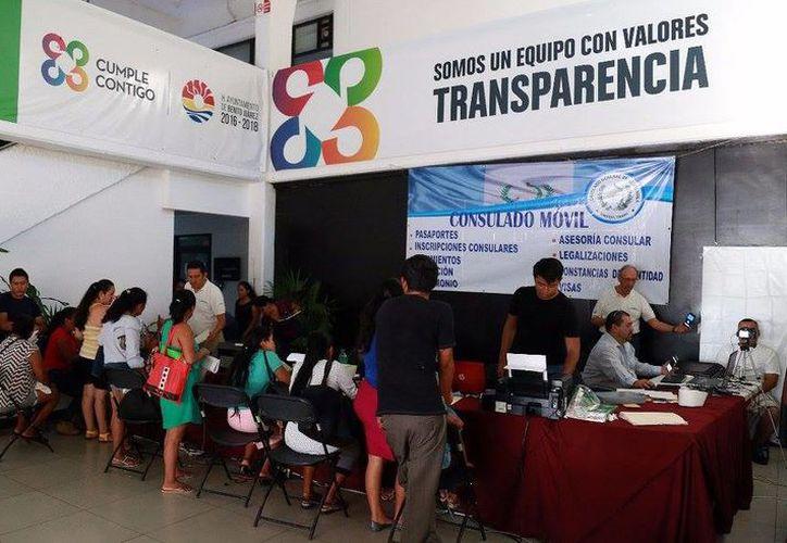 El objetivo de este programa, es que las personas de Guatemala cuenten con sus documentos al día. (Redacción/ SIPSE)