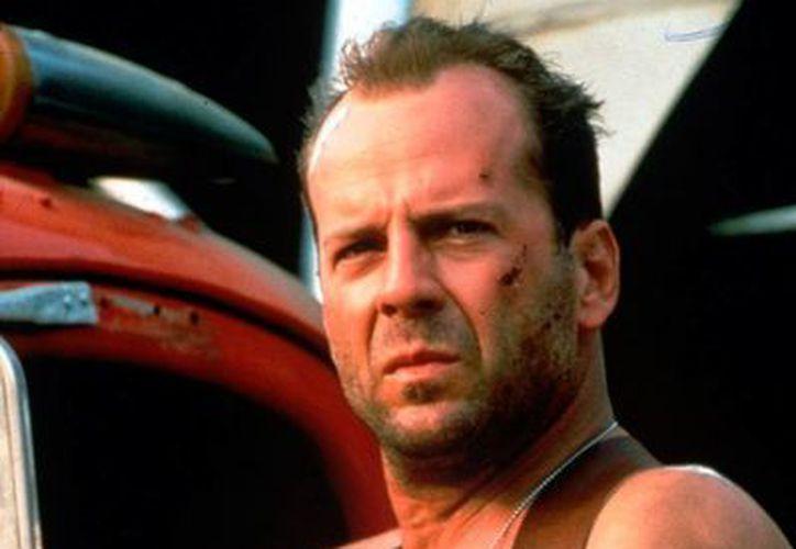 El actor Bruce Willis estuvo en Marruecos, pero poco se supo de sus actividades. Llegó para filmar escenas de la película 'Rock the Kasbah'. (archivo/hdwalle.com)