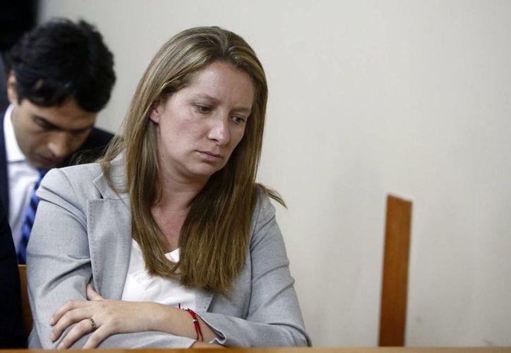 Natalia Compagnon, nuera de la presidenta de Chile, es una de las principales acusadas del llamado 'caso Caval'. (EFE)