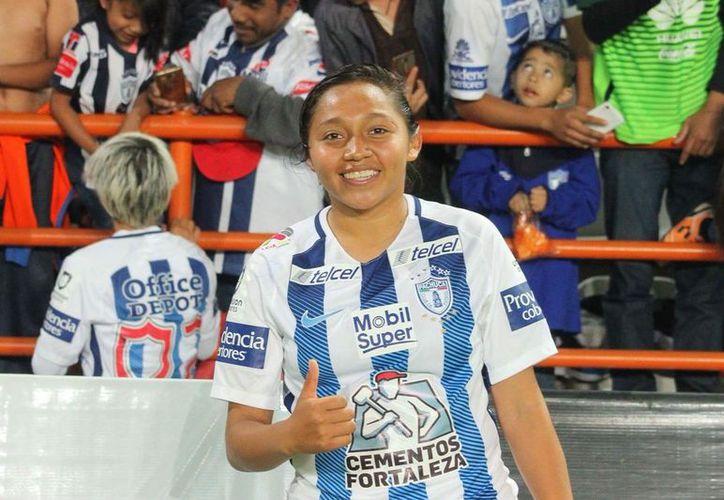Viridiana asegura que Pachuca le ha brindado todo el apoyo posible. (Foto: Redacción)