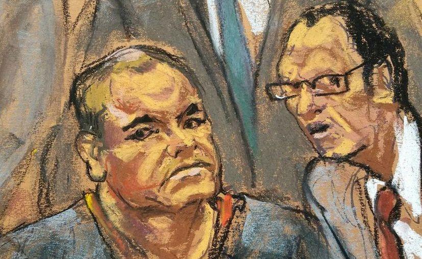 Joaquín 'El Chapo' Guzmán se declaró inocente de todos los cargos. (Reuters)