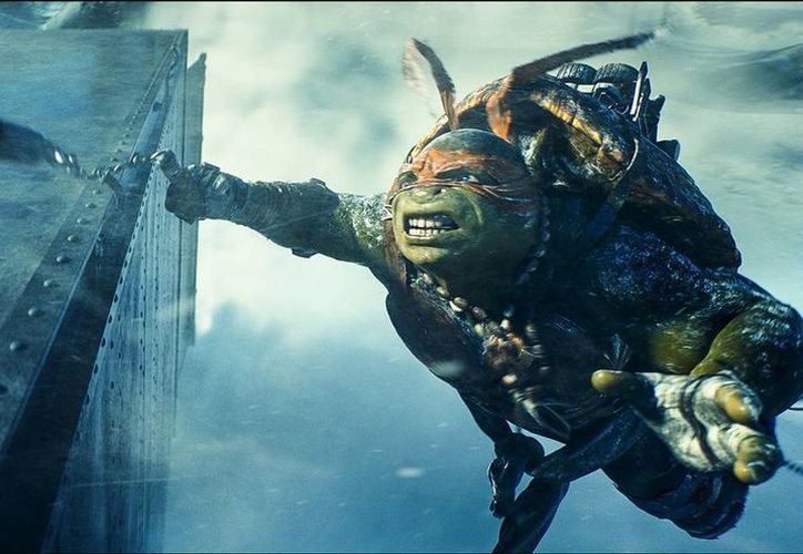 En su primer fin de semana las Tortugas Ninja desplazaron a Guardianes de la Galaxia del trono de la taquilla. (tortugasninjalapelicula.com.mx)