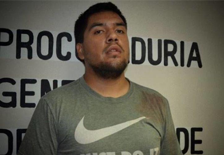 Sergio Oros fue detenido la semana pasada acusado de abusar sexualmente y asesinar a su hijastra de cuatro años. (Excélsior)