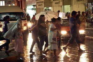 Noche de paz, noche de... lluvia, en Mérida