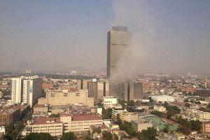 Explosión en la Torre de Pemex en el DF