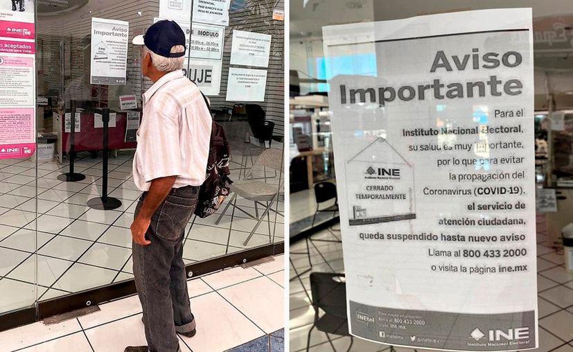 La suspensión de labores entra en vigor hoy. (Novedades Yucatán)