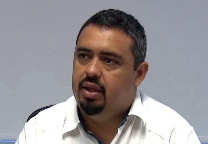 Miguel Rodríguez Baqueiro, aspirante a diputado local. (SIPSE)