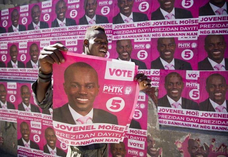 Jovenel Moise asumirá las riendas del empobrecido Haití el próximo 7 de febrero. (AP/Dieu Nalio Chery)