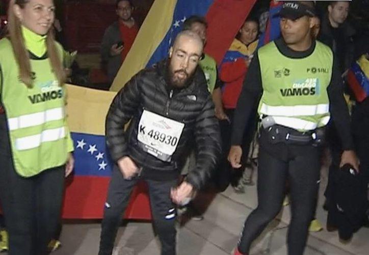 La determinación del venezolano ha conmovido a muchas personas que tienen en su ejemplo una inspiración para alcanzar sus metas. (Agencias)