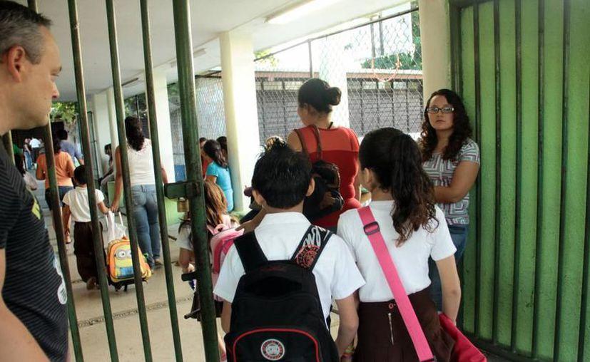 El calendario escolar largo sufriría una reducción de 200 a 195 días  de acuerdo con las nuevas propuestas de los docentes. (Archivo/ SIPSE)
