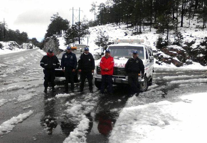 Se prevé caída de nieve o aguanieve en Chihuahua, Coahuila y Durango. (Notimex)