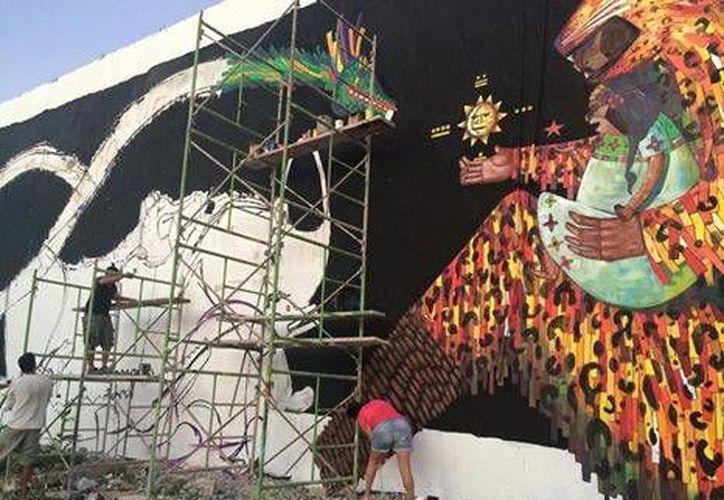 Los murales estarán ubicados en diferentes puntos de la ciudad. (Redacción/SIPSE)