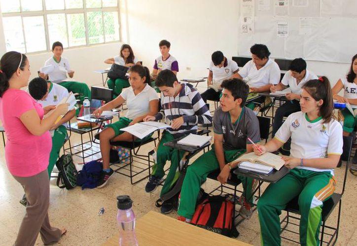 Los integrantes del CARD toman clases en horarios que se acomodan a sus actividades deportivas. (Milenio Novedades)