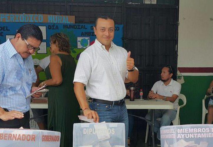 Convocó a los ciudadanos a que hagan efectivo su derecho y obligación de votar. (Paloma Wong/SIPSE)