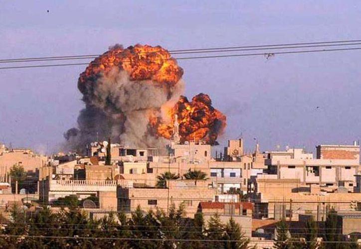 Los bombardeos del Ejército sirio en Homs dejaron casi medio centenar de muertos. La imagen no corresponde al hecho, es sólo de contexto. (radiotrece.com.mx)