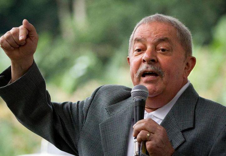 Luis Inácio Lula da Silva podría ser investigado por tráfico de influencias para favorecer a la constructora Odebrecht. (Archivo/AP)