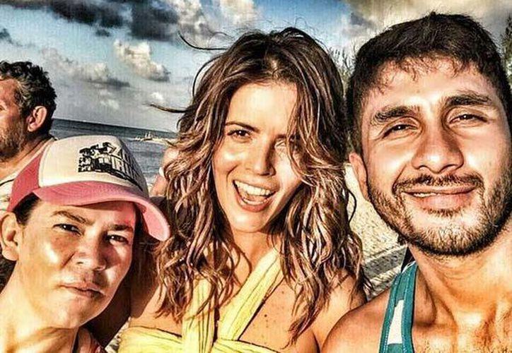 La actriz compartió imágenes de Cozumel a través de su cuenta oficial de Instagram. (Instagram/claudiaalvarezo)