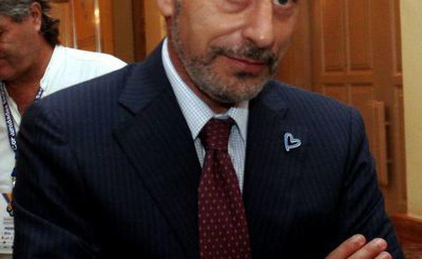 El representante de la Oficina de la ONU contra las Drogas en México, Antonio Mazzitelli. (Christian Ayala/SIPSE)