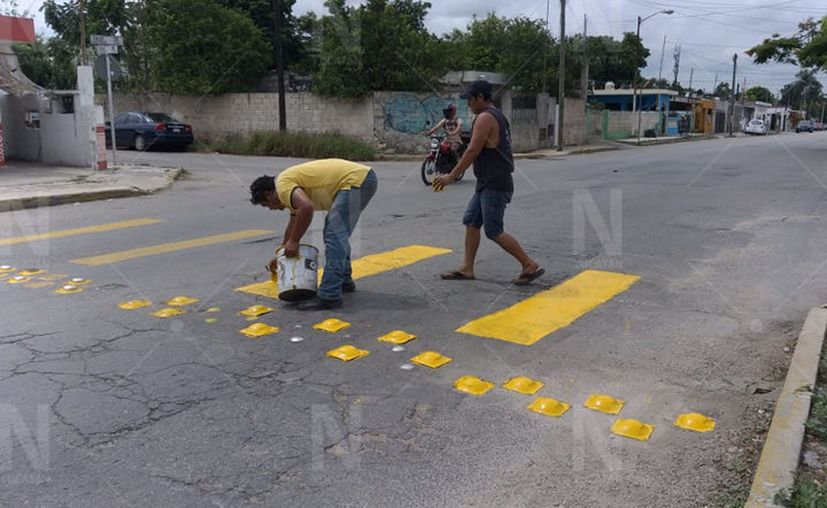 La iniciativa fue hecha por el dueño de una recicladora de materiales metálicos. (Novedades Yucatán)