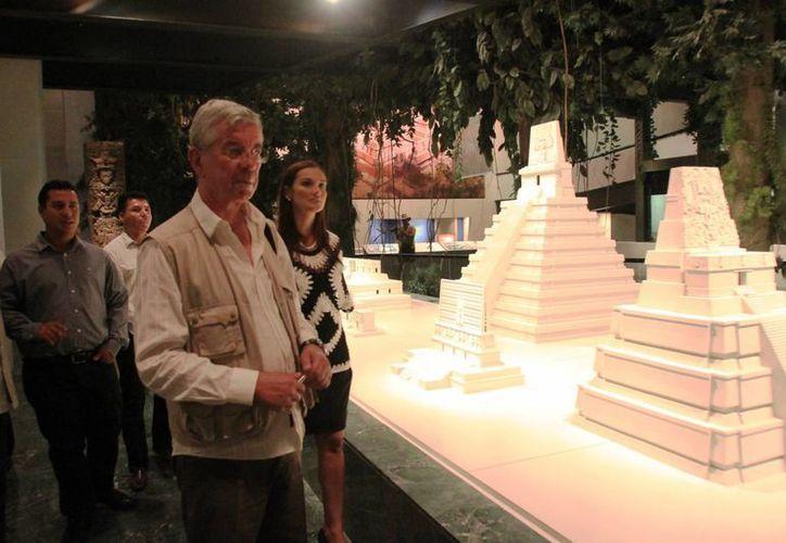 El embajador, Roberto Spinelli, adelantó que el festival será un gran promotor de turismo. (Jorge Carrillo/SIPSE)