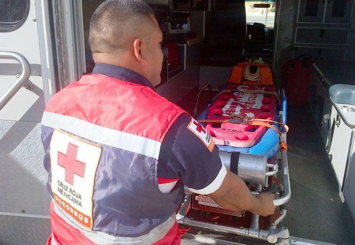 Participarán 50 elementos de la Cruz Roja en la campaña de servicios, que se realizará los fines de semana en el municipio. (Daniel Pacheco/SIPSE)