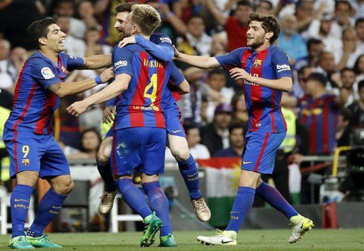 Messi anotó dos veces durante el partido. (Foto: El Mundo)