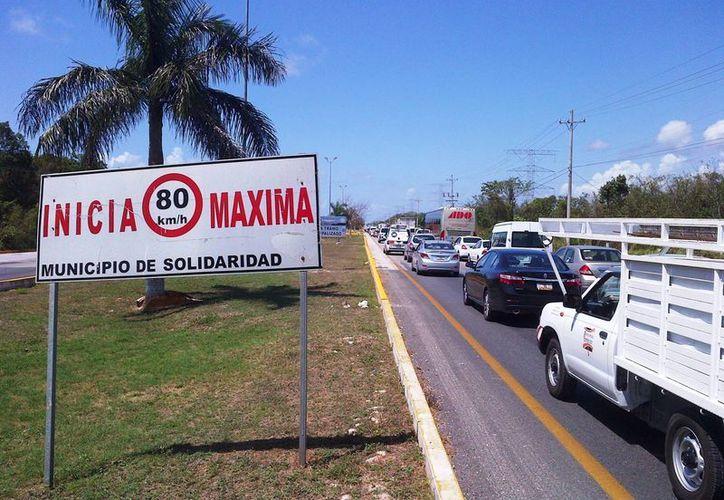 Los operativos de vigilancia en la zona turística permanecerán aún después del Tianguis Turístico 2014.  (Daniel Pacheco/SIPSE)