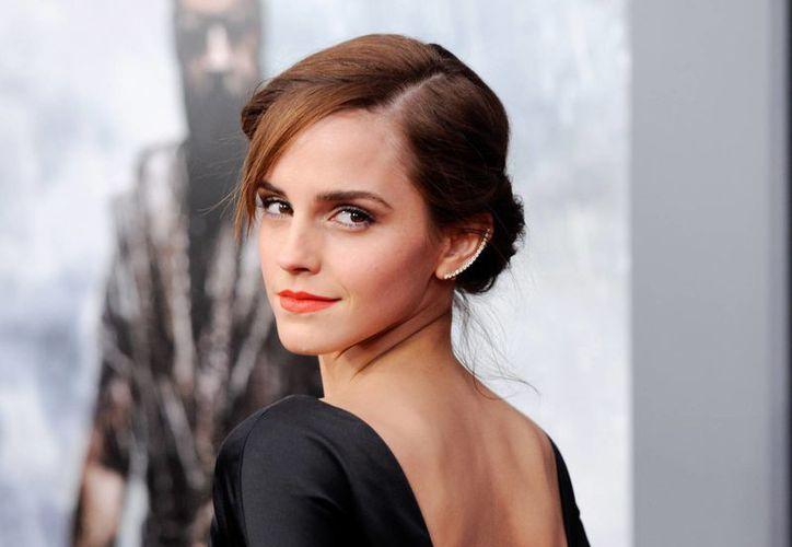 Emma Watson se graduó el domingo en la Universidad de Brown, en Rhode Island. (Agencias)