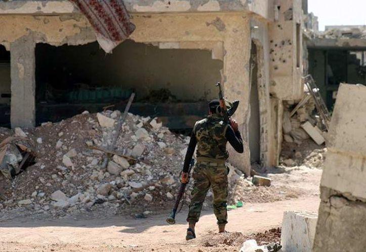 Seis años de combates y asedios han devastado Daraa, una de las primeras ciudades que registró grandes protestas contra el presidente, Bashar al Assad, en 2011. (Foto: Excélsior)