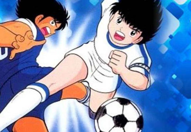 Japón lanzara la edición especial del uniforme que usará en el Mundial de Rusia 2018, basada en Súper Campeones. (Contexto/Internet)