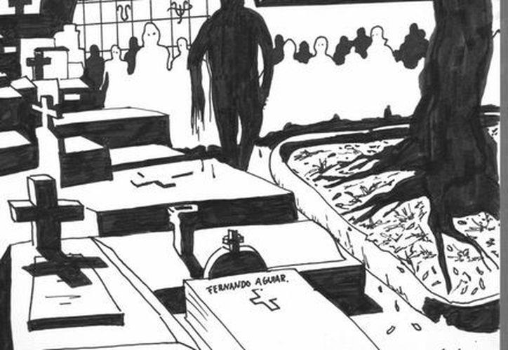 Pobladores de Hocabá aseguran ver el fantasma de Juan 'el ahorcado' deambulando o colgado en un árbol. (Jorge Moreno/SIPSE)