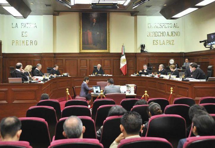 Los ministros de la Suprema Corte determinaron que las comunidades indígenas del país gozan de una protección especial del Estado mexicano. (Notimex)