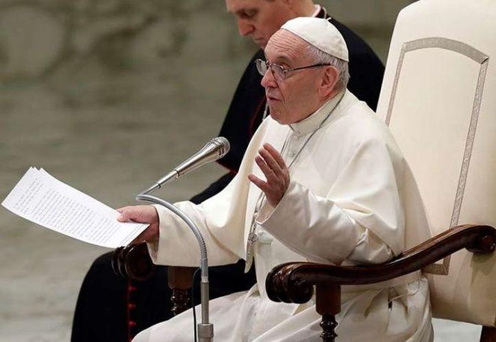 El Papa Francisco aclaró hoy que las misas son gratuitas. (AP)