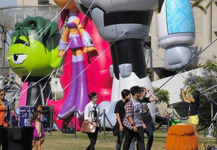 Por cuatro días, el centro de convenciones de San Diego será el epicentro de uno de los festivales de cómics más importantes del mundo. (AP)