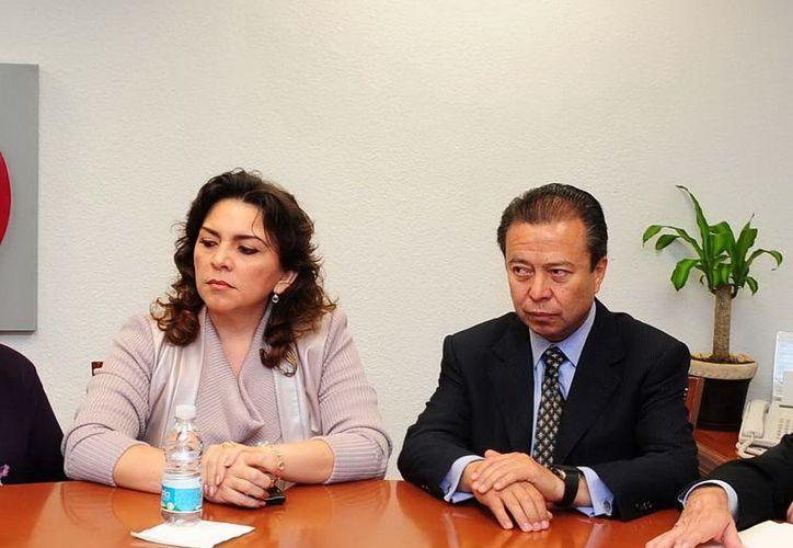 Ortega Pacheco aseguró que la relación entre el PRI y el presidente Enrique Peña Nieto será de mucho respeto. (Notimex)