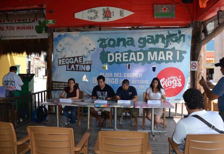 El festival dará inició en el Señor Forgs de Solidaridad, con los grupos Zona Ganjah y Dread Mar I. (Loana Segovia/SIPSE)