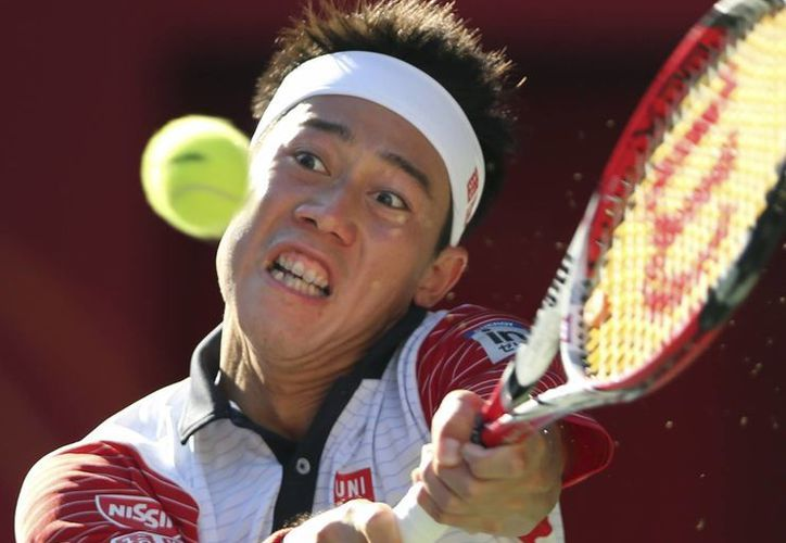 Kei Nishikori dejó escapar el título del Abierto de Estados Unidos, pero ahora tiene una nueva oportunidad en Tokio, en su país natal. (Foto: AP)
