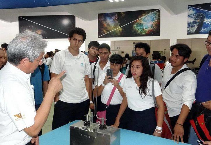 Las actividades cuentan con el apoyo del Consejo Nacional de Ciencia y Tecnología. (Redacción/SIPSE)