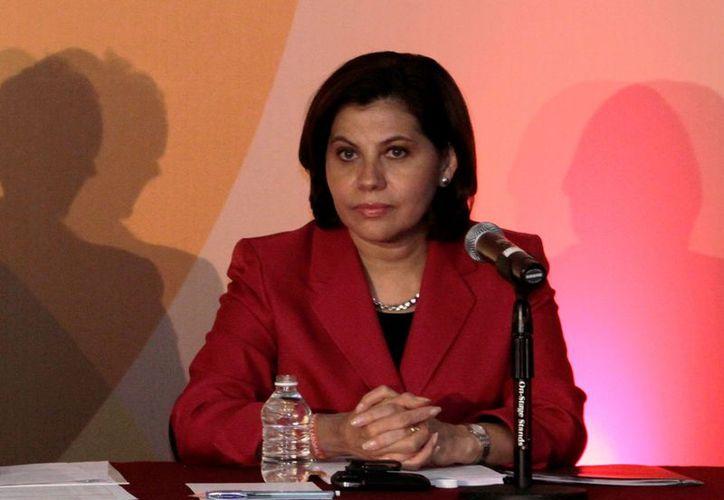 Patricia Espinosa cuenta con 31 años en el SEM, del cual fue titular en el sexenio de Calderón, además de ser embajadora en Austria y Alemania. (Archivo Notimex)