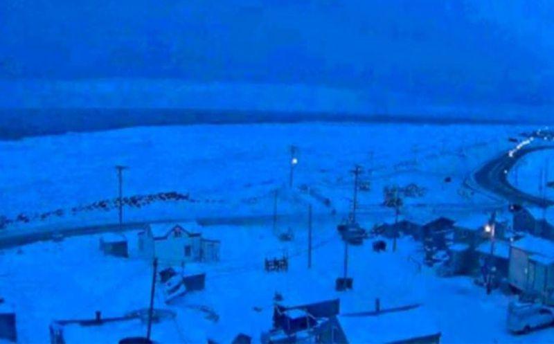 La ciudad en Alaska cuya noche dura 65 días