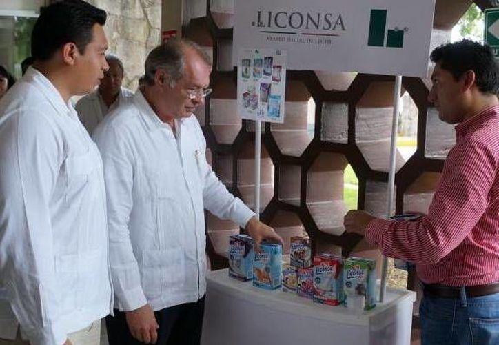 Comenzó la venta de productos lácteos de la marca Liconsa plus en el IMSS en Yucatán. (Milenio Novedades)
