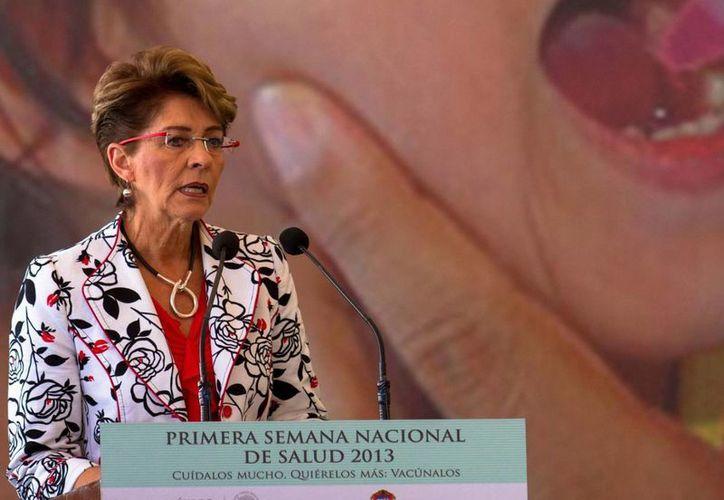 La secretaria de salud rechaza que los medicamentos en México sean caros. (Notimex)