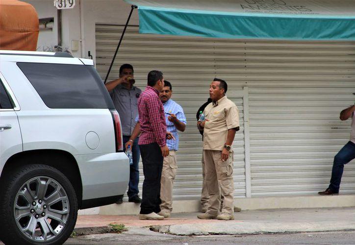 Félix González se quedará con dos elementos de seguridad. (Foto: David de la Fuente/SIPSE)