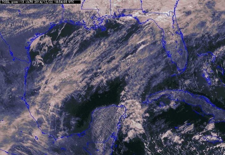El norte de Navidad provocará lluvias y descenso de temperaturas en la Península de Yucatán. (Conagua)