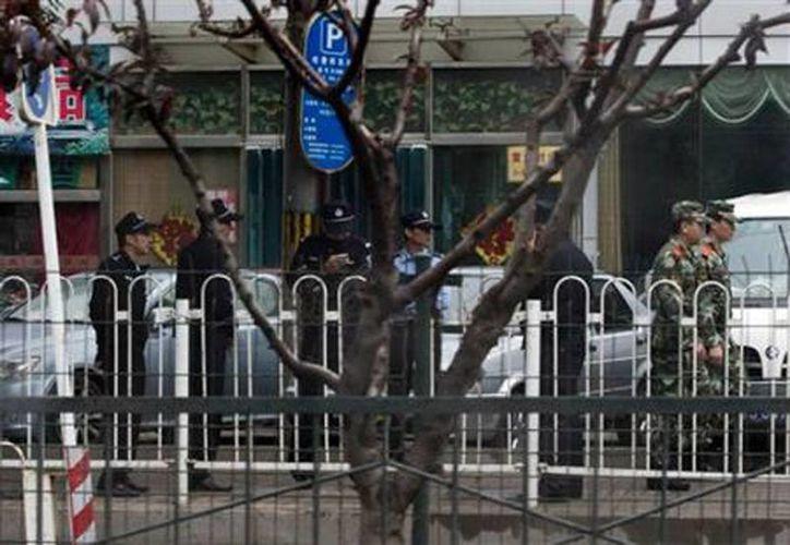 Era un polvo y habría causado el cierre del edificio diplomático. (foto vocero.com)