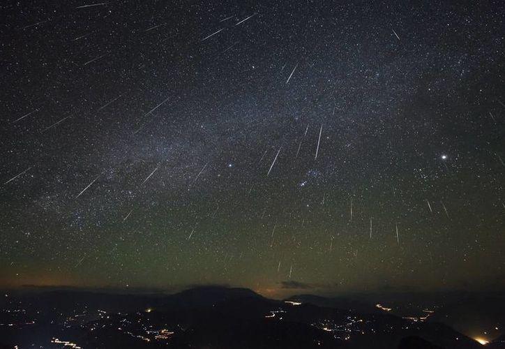 El mejor momento para observar la lluvia de estrellas de las Dracónidas es tras la puesta del sol. (nasa.gov)