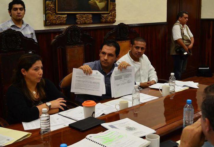 Los regidores priistas aseguran que regresaron las prácticas violatorias en las licitaciones del Ayuntamiento de Mérida. (Cortesía)