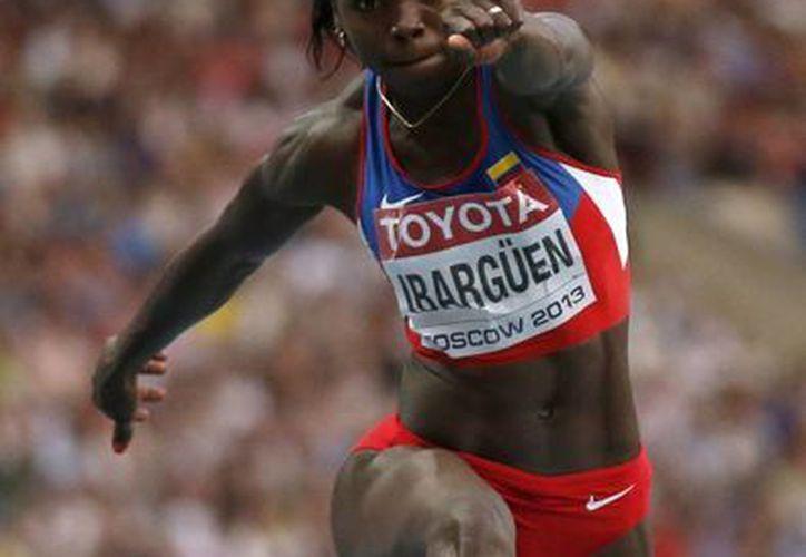 Ibargüen se llevó el oro con un brinco de 14.85 metros. (Agencias)